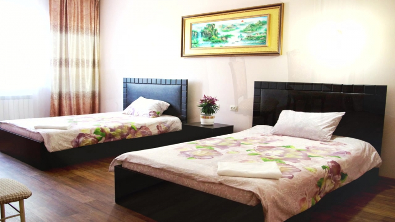 Комфорт и уют семейного гостевого дома Багульник