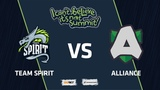 Team Spirit vs Alliance, Group Stage, I Can't Believe It's Not Summit