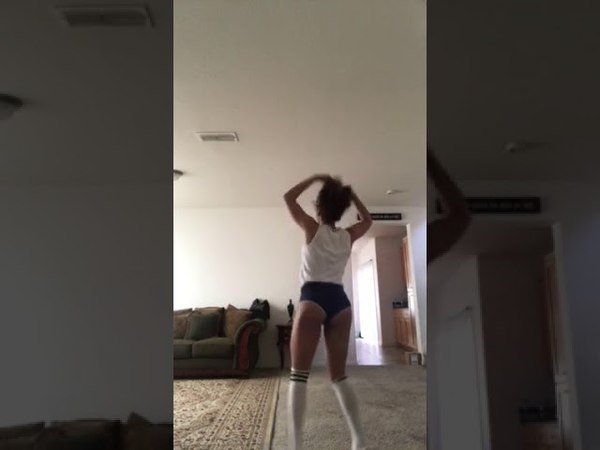 Morning Twerk session! To Juvenile- Back That Ass up!