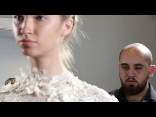 Making-of the Ashraf Hennawi fall-winter 2017 Ready To Wear Collection