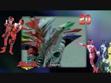 [dragonfox] Mirai Sentai Timeranger - 20 (RUSUB)