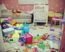 С появлением дома маленького ребенка, процесс уборки начинает напоминать игру в тетрис…