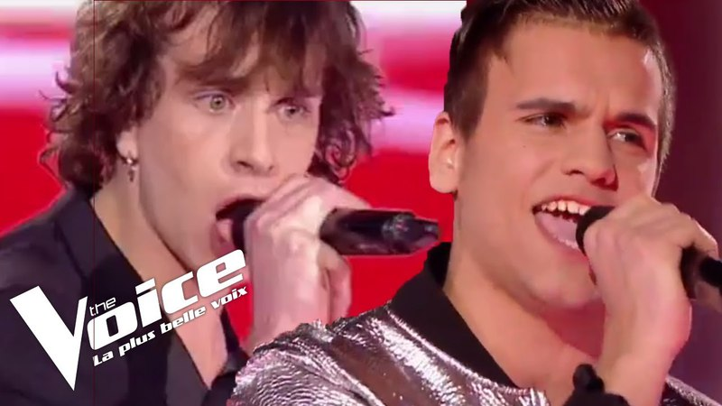 Rita Mitsouko - Histoires d'A | Florent Marchand vs Xam Hurricane | The Voice France 2017 | Duels