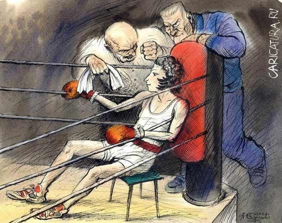Выдающийся английский драматург Бернард Шоу увлекался боксом и даже выступал на состязаниях в среднем весе.