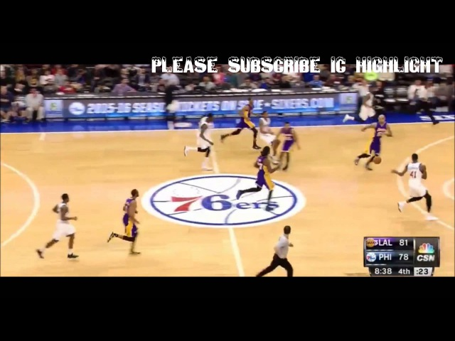 Thomas Robinson 13pts 5rebs highlight 15.03.30@Lakers