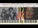 Money, Money, Money - ABBA вариация Ноты и Видеоурок для фортепиано piano cover