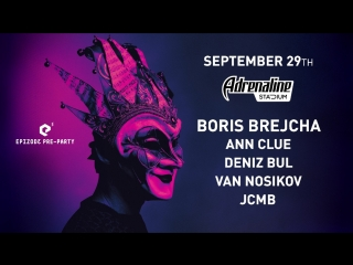 Epizode 3 pre-party: Boris Brejcha 29.09.2018 Moscow