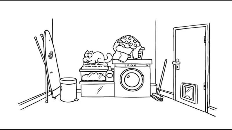 40. Washed Up - Simons Cat Кот Саймон