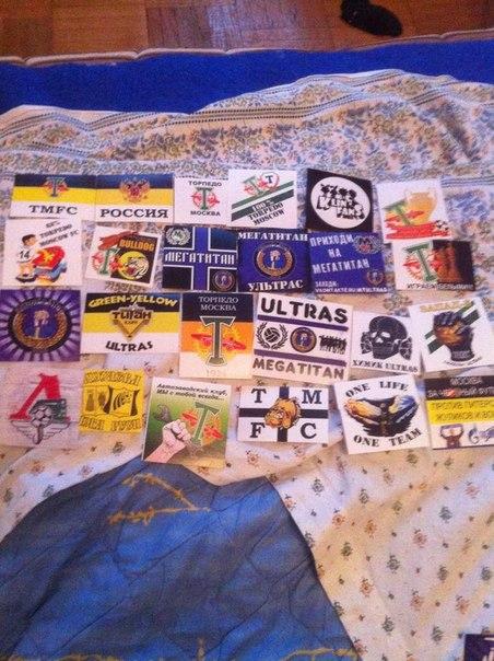 Lokomotiv Moscow Ultras Spartak Moscow Stickers Ultras