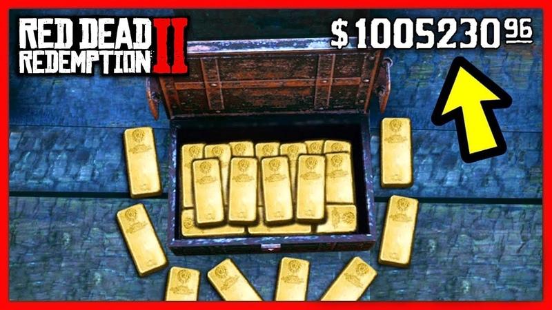 Red Dead Redemption 2 - $100,000 ЗА ЧАС / Бесконечные Деньги Баг на Деньги Как Заработать / RDR2