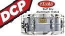 Tama SLP Classic Dry Aluminum Snare Drum 14x5 5 Video Demo
