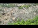 Большой Чегемский водопад в Кабардино-Балкарии, верхняя часть