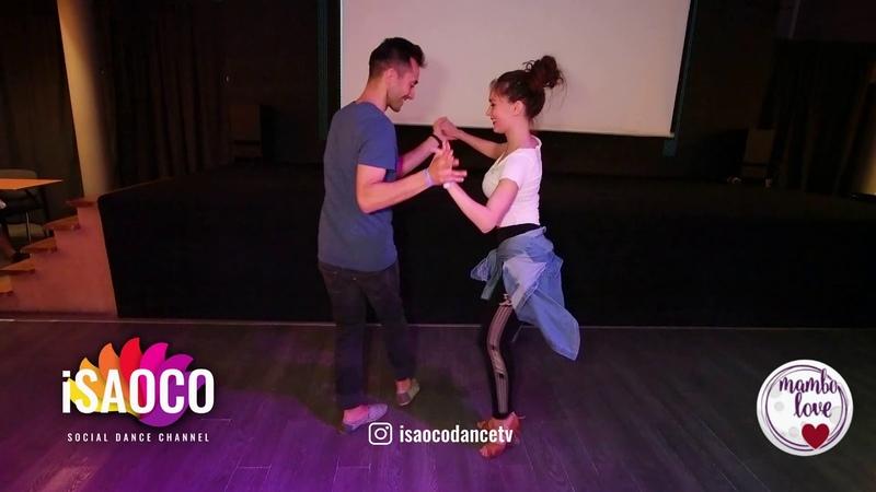 Jakov Krželj and Nataliya Chumakova Salsa Dancing in Mambolove, Saturday 09.06.2018