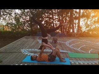 Акробатическая йога