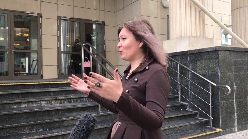 Интервью адвоката Сталины Гуревич после заседания по апелляции Шарий Фейгин