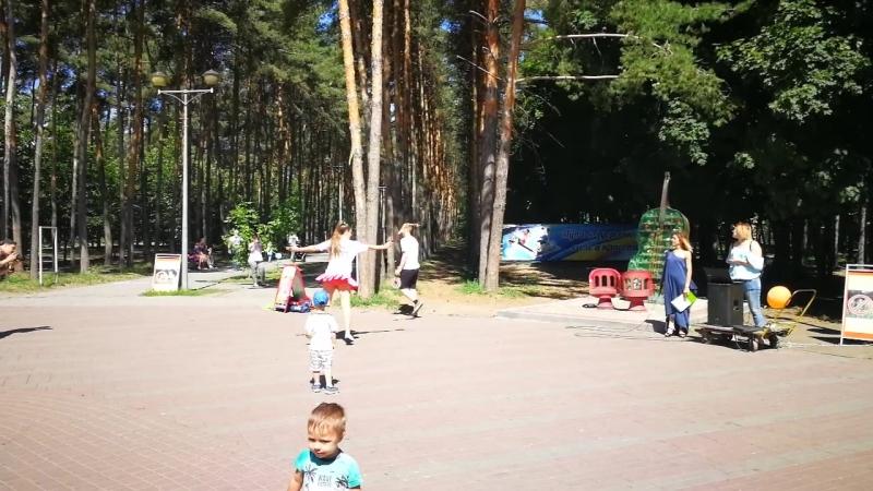 Ролибол в Липецке Показательные от клуба Виртуоз