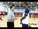 All Access: Paul George MIC'D up at USA Basketball Men's National Team Training Camp