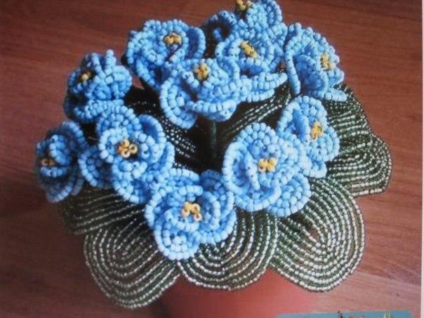 бисероплетение - цветы,