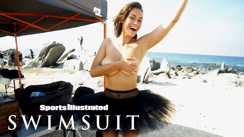 Myla Dalbesio Up Close Personal With Wildlife On A Beach   Outtakes   Sports Illustrated Swimsuit