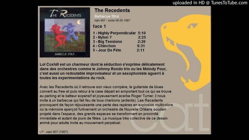 The Recedents - Barbecue Strut - Face 1