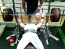 Аксон Средняя тренировка от 120кг до 180кг 6*6 видео 180*5