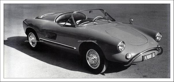 Enzmann 506 Швейцарский спортивный автомобильКонцепция спортивного автомобиля на базе малолитражного автомобиля Volswagen Beetle была создана в 1953-1956-м гг. швейцарским врачом Эмилем