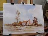 Loose watercolor the Edward Seago way with Alan Owen