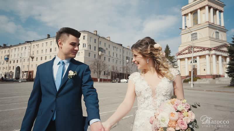 [Свадебный клип] Георгий и Екатерина. Свадьба в Липецке. Видеограф видеосъемка выездная регистрация Липецк