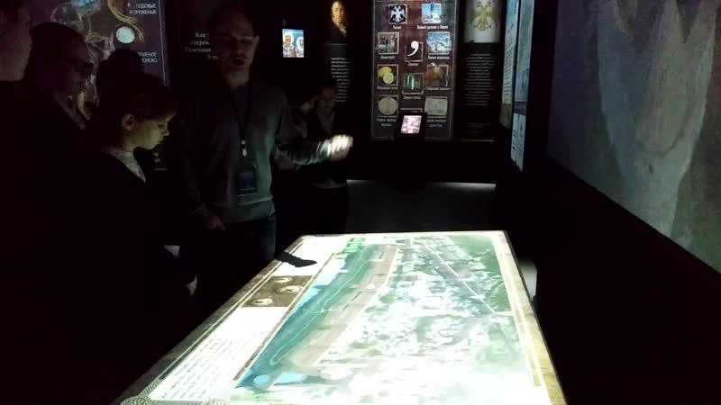 интерактивная выставка, зал Рюриковичей