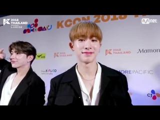 [VK][181004] MONSTA X M&G HI-TOUCH @ KCON 2018 THAILAND