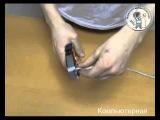 Видеоурок: обжим сетевого коннектора RJ-45 от Компьютерная.Ру