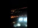 Взлёт самолёта ночью из Внуково. Москва - Красноярск.