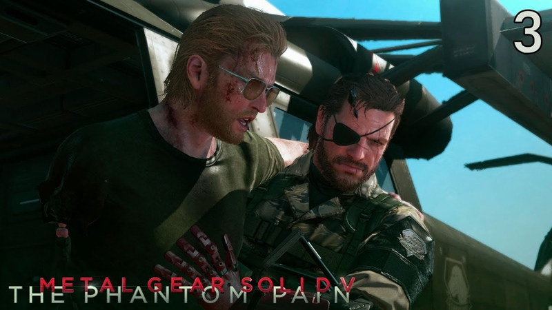 Metal Gear Solid V The Phantom Pain - Казухира Миллер 3