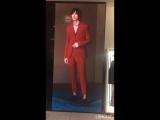 LED рекламный экран для магазина мужской одежды. Шаг пикселя P5 мм. (У нас самая лучшая цена на P5).