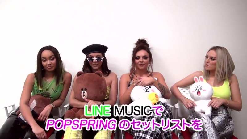 Little Mix LINE MUSIC プレイリスト - - ガールズの POPSPRING でのライブセットリスト曲をそのままLINE MUSICのプレイリストにしたよ!キャ