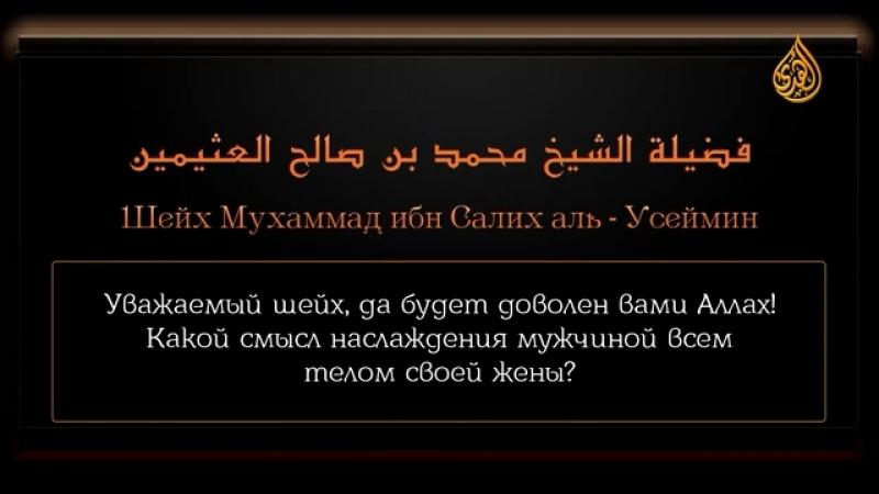 Смысл наслаждения всем телом жены  Ибн Усаймин
