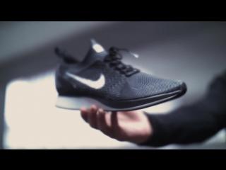 Nike air zoom mariah flyknit racer in action