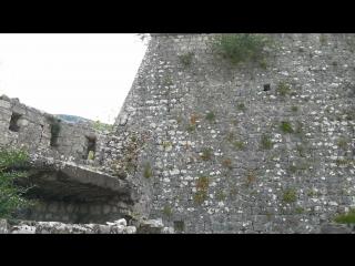 Черногория, Котор. Крепость Св. Иоанна.