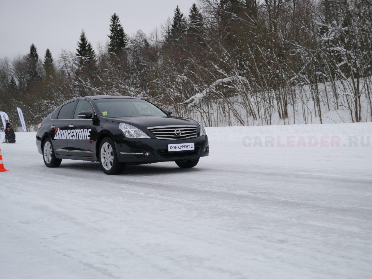 тест зимних шин Michelin