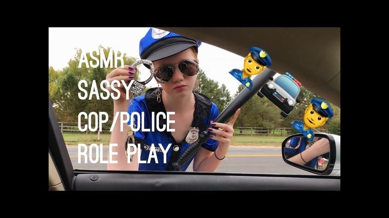 ASMR~ 👮♀️🚓 SASSY Police Officer / Cop