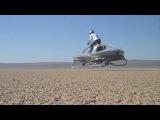 Future Star Wars Bike Tested in Mojave | Tandem Duct Aerial | Aerofex HD Video