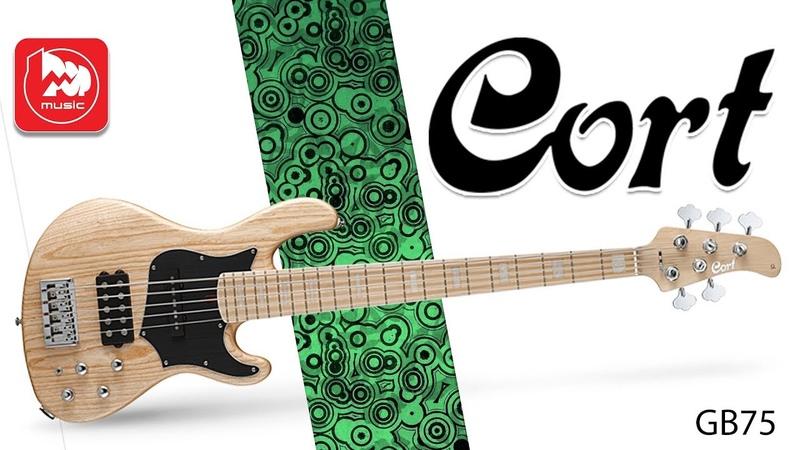 5-ти струнная бас гитара CORT GB75