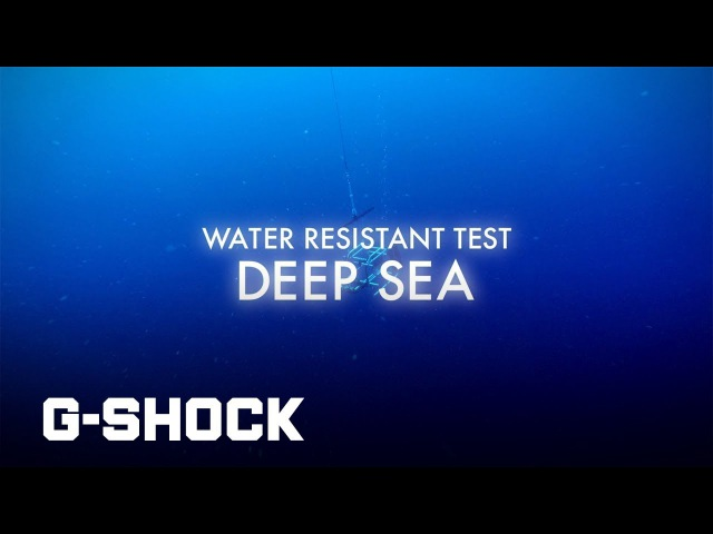 G-SHOCK DW-5600 - Water Resistant : Challenge the limits CASIO G-SHOCK
