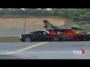Невероятная гонка! Суперкар, спортивный мотоцикл, болид F1, частный самолет и истребитель
