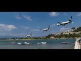 Три самолета одновременно идут на посадку