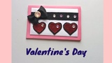 How to Make - Valentine's Day Pop Up CardHandmade love card making ideas.