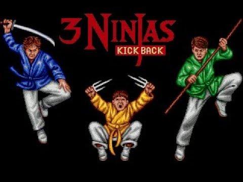 Sega, 3 Ninjas Kick Back, полное прохождение