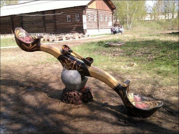 Русские качели