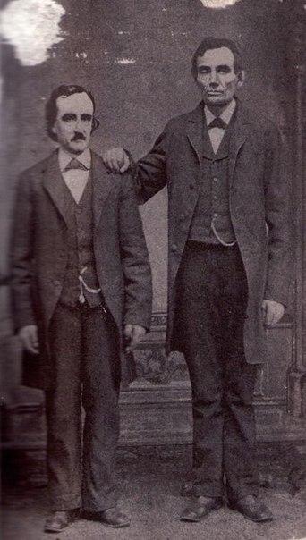 Эдгар Аллан По и Авраам Линкольн. Вашингтон, 4 февраля 1849 год.