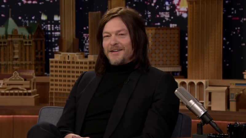 Norman Reedus Walking Dead Co-Star Andrew Lincoln Punches Everyone in the Face